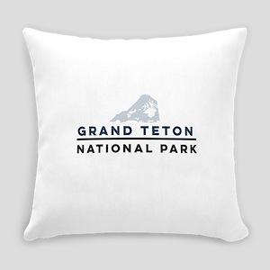 Grand Teton National Park Everyday Pillow