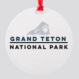 Grand Teton National Park Round Ornament