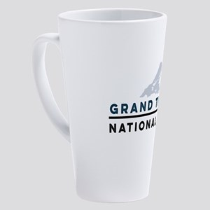 Grand Teton National Park 17 oz Latte Mug
