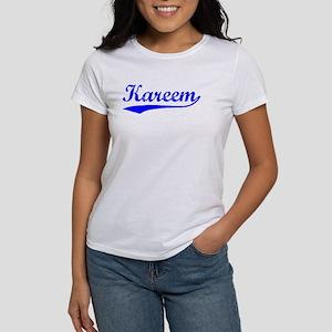 Vintage Kareem (Blue) Women's T-Shirt