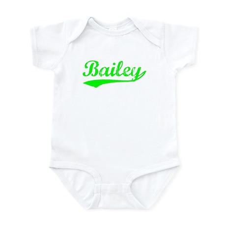Vintage Bailey (Green) Infant Bodysuit