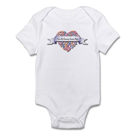Love My Elementary Education Major Infant Bodysuit