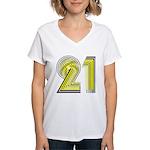 21 Gifts Women's V-Neck T-Shirt