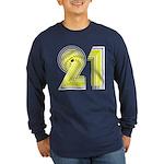 21st Long Sleeve Dark T-Shirt