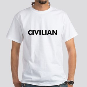 Civilian White T-Shirt