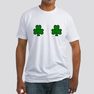 SHAMROCK CHEST Fitted T-Shirt