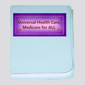 Universal Health care baby blanket