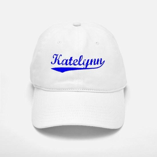 Vintage Katelynn (Blue) Baseball Baseball Cap