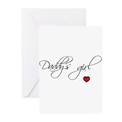 Daddy's girl Greeting Cards (Pk of 10)