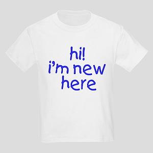 im new here-boy Kids Light T-Shirt