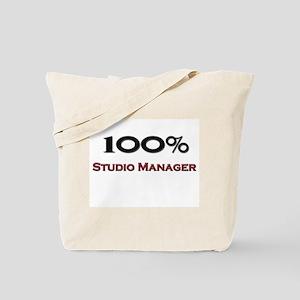 100 Percent Studio Manager Tote Bag