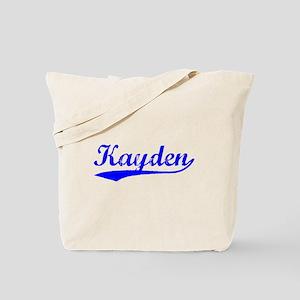 Vintage Kayden (Blue) Tote Bag