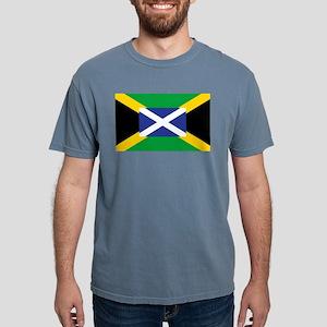 Jamaican Scottish Flag - Jamaica - Scotlan T-Shirt