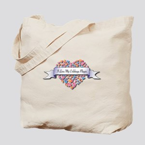 Love My Cribbage Player Tote Bag