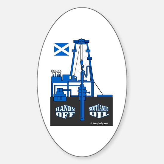 Scotland's Oil Oval Decal