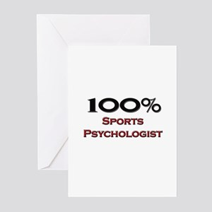 100 Percent Sports Psychologist Greeting Cards (Pk