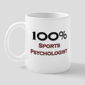 100 Percent Sports Psychologist Mug