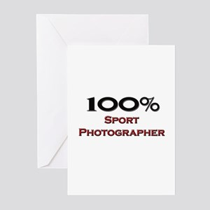 100 Percent Sport Photographer Greeting Cards (Pk