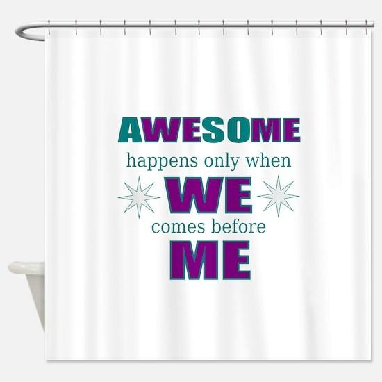 self-employed inspirational Shower Curtain
