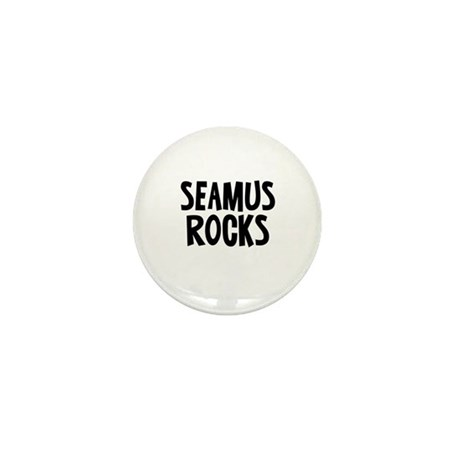 Seamus Rocks Mini Button (10 pack)