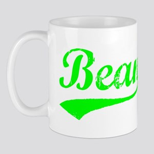 Vintage Bean (Green) Mug