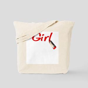 Crayon Girl Tote Bag