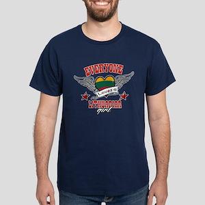 Everyone loves a Lithuanian girl Dark T-Shirt