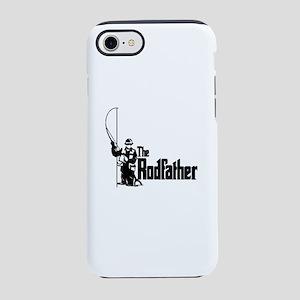 The Rodfather Fun Fishing Qu iPhone 8/7 Tough Case