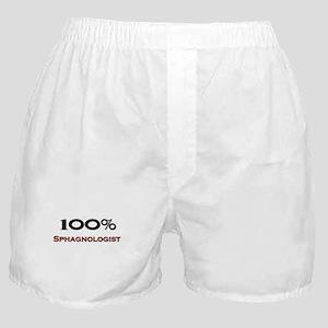 100 Percent Sphagnologist Boxer Shorts