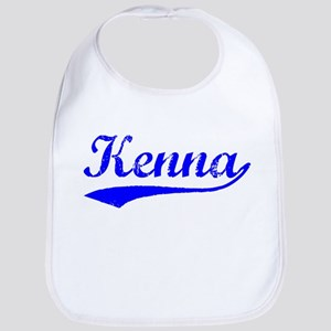 Vintage Kenna (Blue) Bib