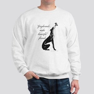 Greyhound Sweatshirt/Butterfly
