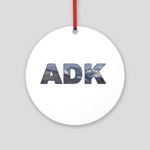 Adirondack ADK Ornament (Round)