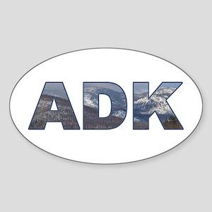 Adirondack ADK Oval Sticker