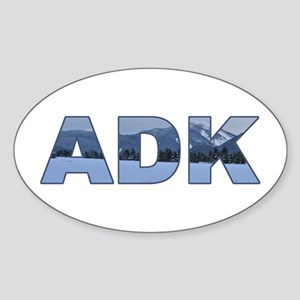 ADK Adirondack Oval Sticker