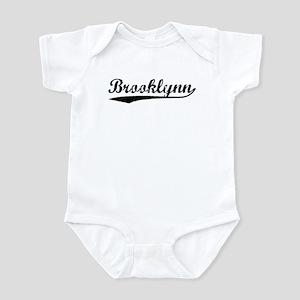 Vintage Brooklynn (Black) Infant Bodysuit