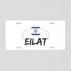 Eilat Aluminum License Plate