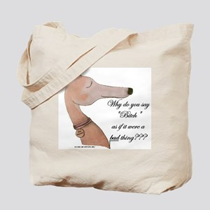 Greyhound Tote Bag/Question