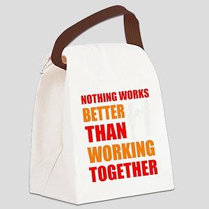 Motivation Canvas Lunch Bag