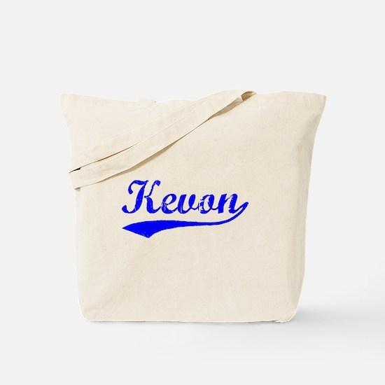 Vintage Kevon (Blue) Tote Bag