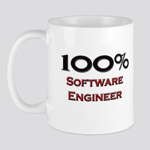 100 Percent Software Engineer Mug