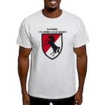 11TH ARMORED CAVALRY REGIMENT Light T-Shirt