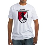 11TH ARMORED CAVALRY REGIMENT Fitted T-Shirt