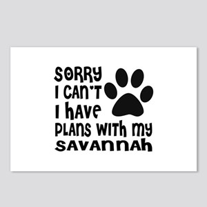 I Have Plans With My Sava Postcards (Package of 8)