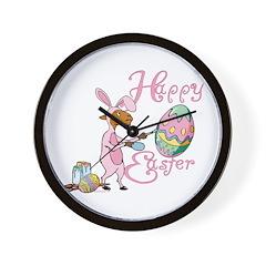 Easter Egg Goat Wall Clock