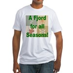 Fjord Horse Fitted T-Shirt
