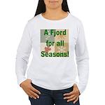 Fjord Horse Women's Long Sleeve T-Shirt