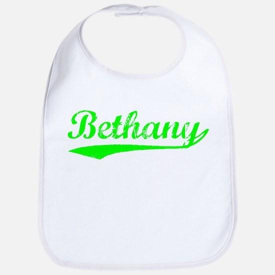 Vintage Bethany (Green) Bib