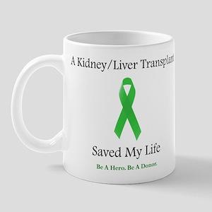 Kidney/Liver Transplant Mug