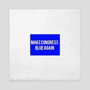 Make congress blue again Queen Duvet