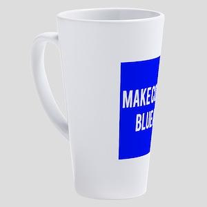 Make congress blue again 17 oz Latte Mug